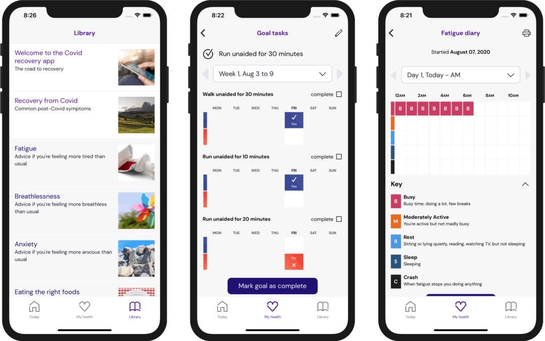 New rehabilitation app to aid recovery of COVID19