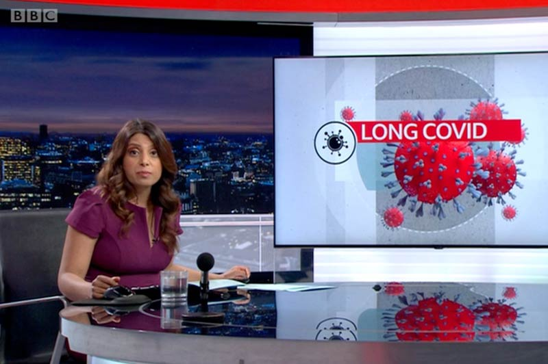 BBC London News Living With Covid Recovery